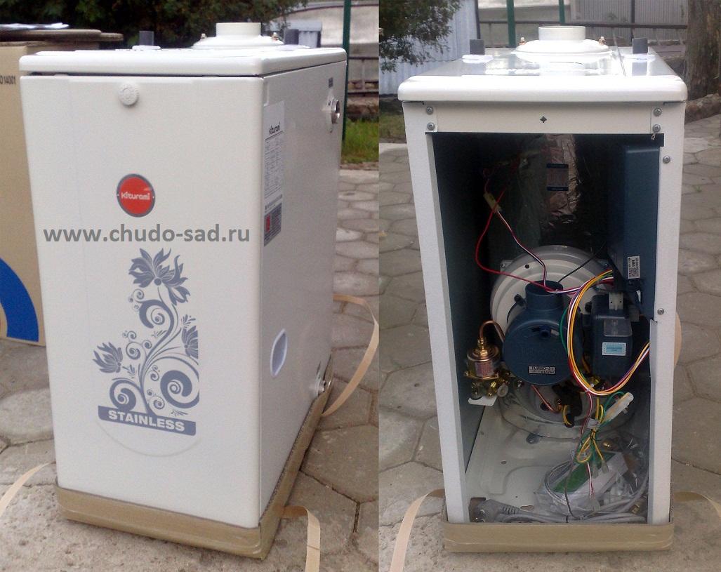 Измененная конструкция подключения котла к системе отопления и горячего водоснабжения.  Увеличенный срок...